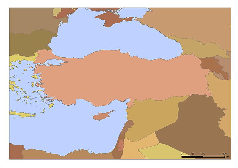 La Turquie et ses voisins
