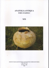 Anatolia Antiqua XIX