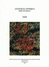 Anatolia Antiqua XXII