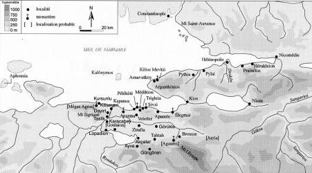 carte monasteres