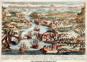 1780 Istanbul and Hellespont CREPY s