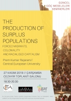 The production of surplus populations: forced migrants, coloniality and racialised capitalism