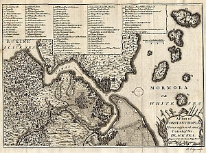 1770 Plan Of Constantinople s